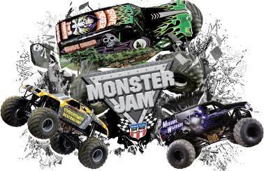 Monster jam clipart.