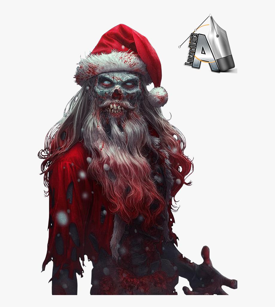 Santa Claus Clipart Evil.