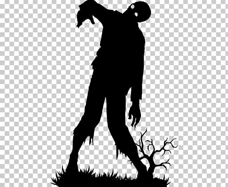 Silhouette Zombie Carnaval PNG, Clipart, Animals, Black, Black And.