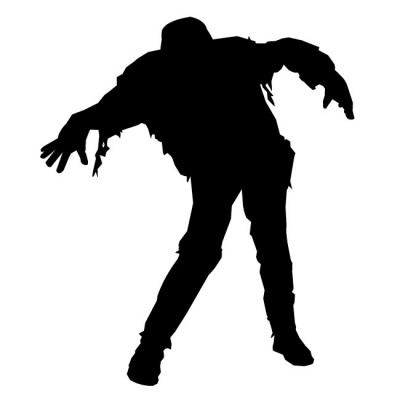 Free Zombie Silhouette Cliparts, Download Free Clip Art, Free Clip.