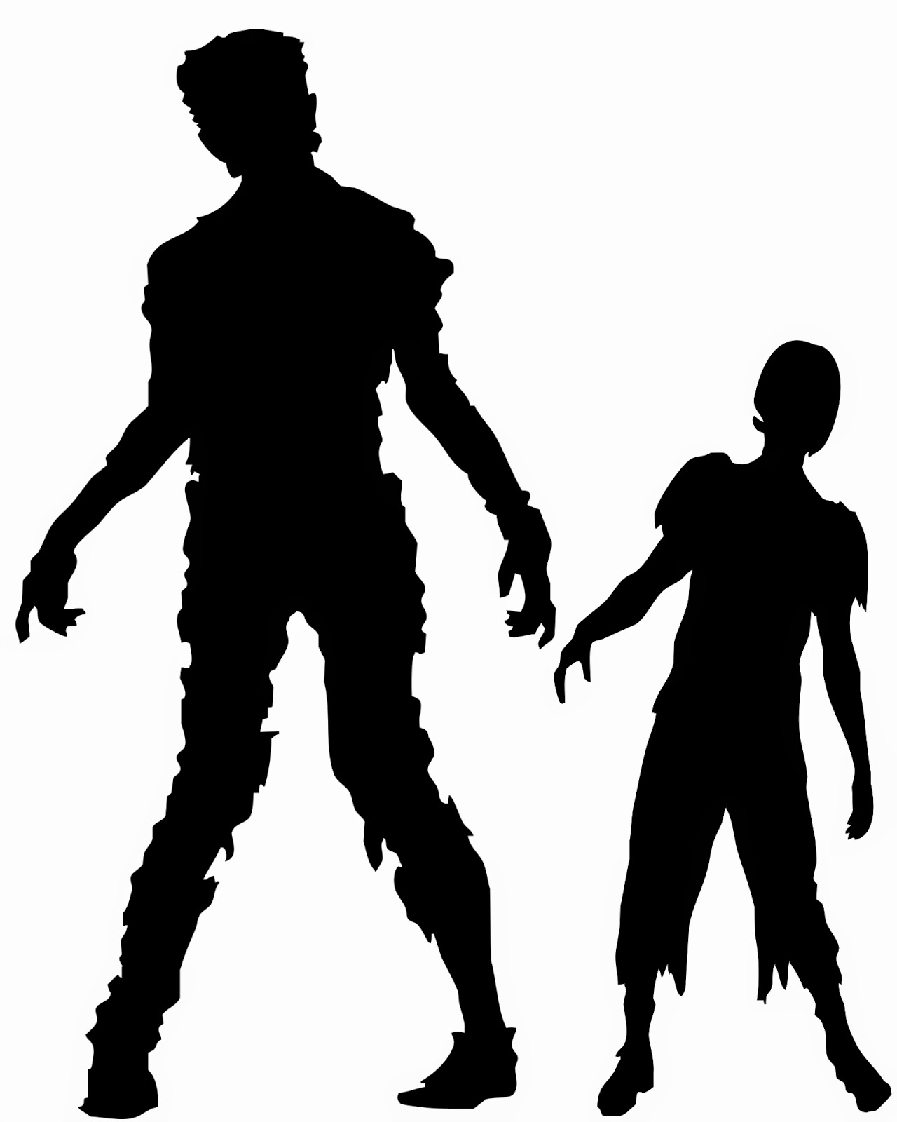 Zombie Silhouette Png , (+) Png Group.