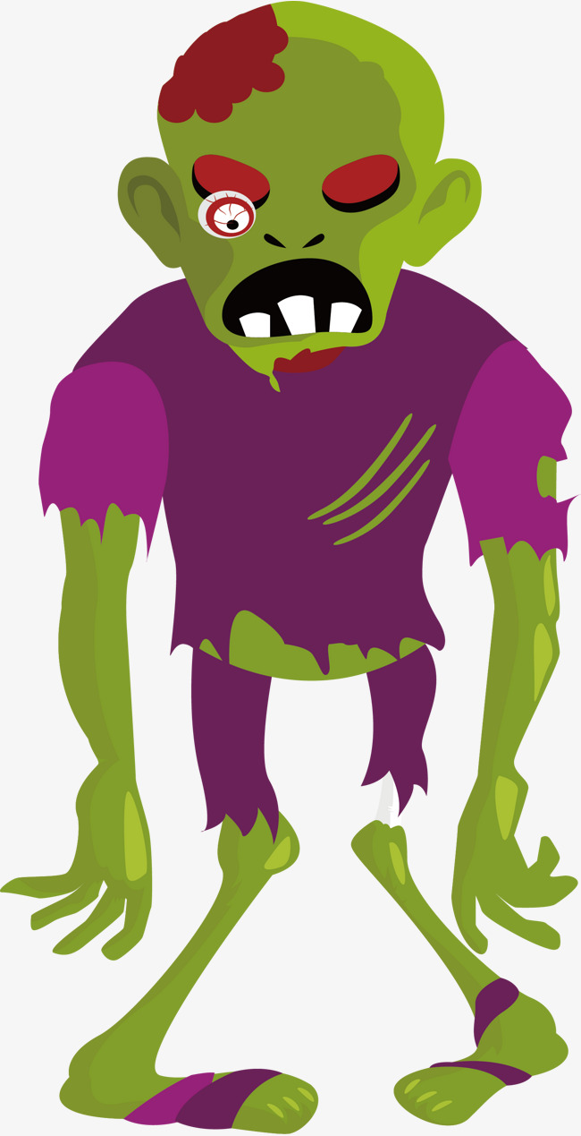 Zombie Png Vector & Free Zombie Vector.png Transparent Images #13726.