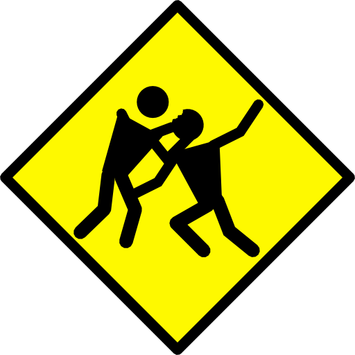 Zombie Warning Road Sign Clipart.