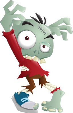 funny zombie cartoon pictures.