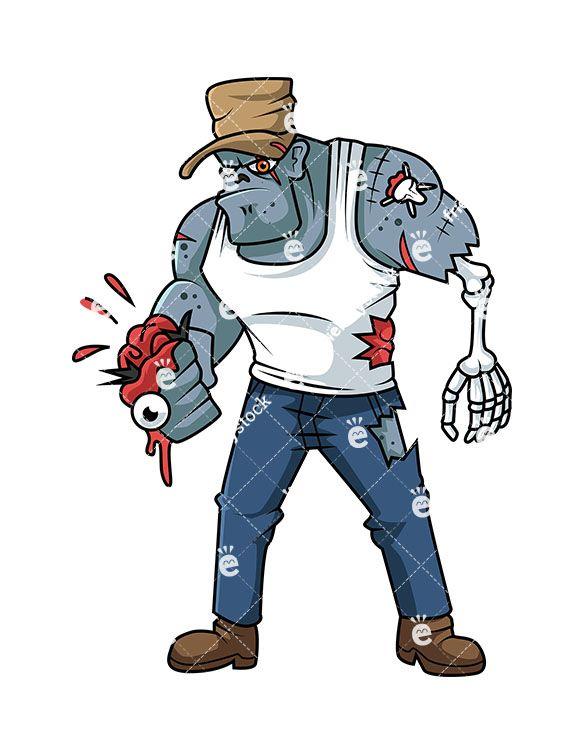 Brutal Gangster Zombie.