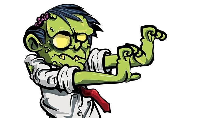 Identify A Workplace Zombie.
