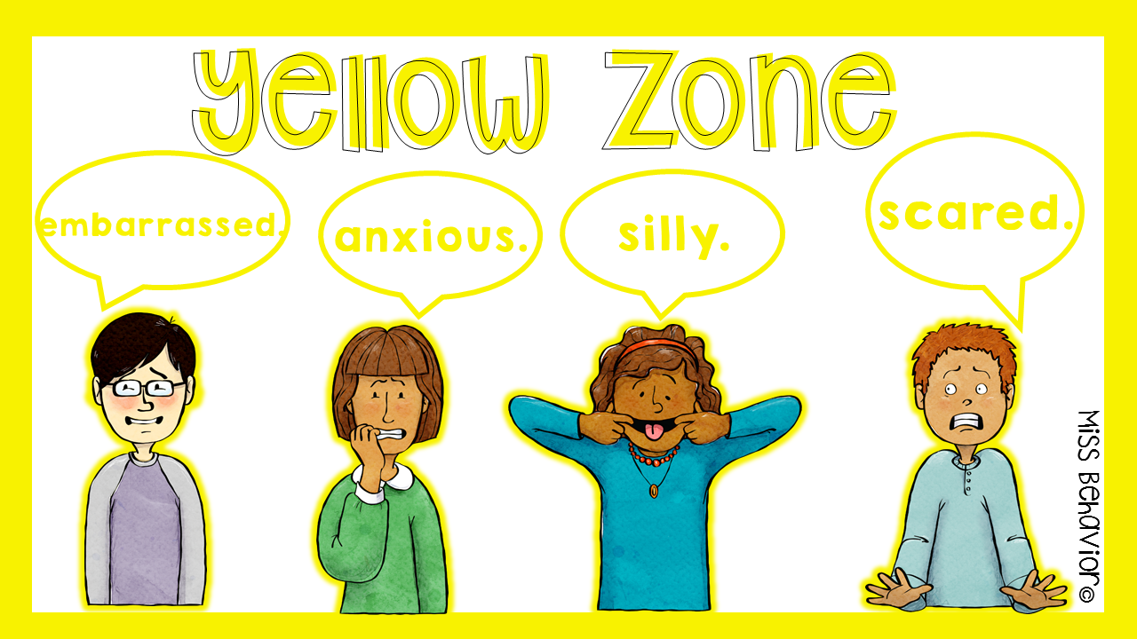 zones of regulation clipart #9