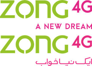 Zong 4G (Urdu + Eng) Logo Vector (.CDR) Free Download.
