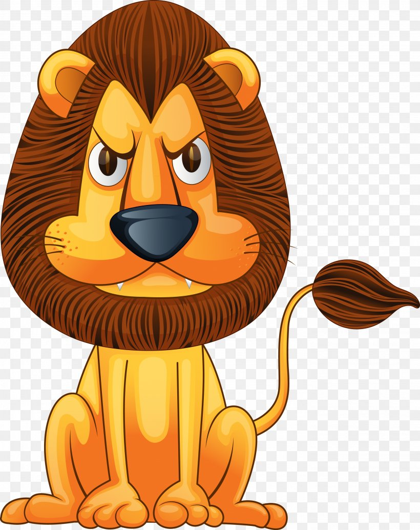 Lion Tiger Baby Zoo Animals Cage Clip Art, PNG, 2773x3500px.