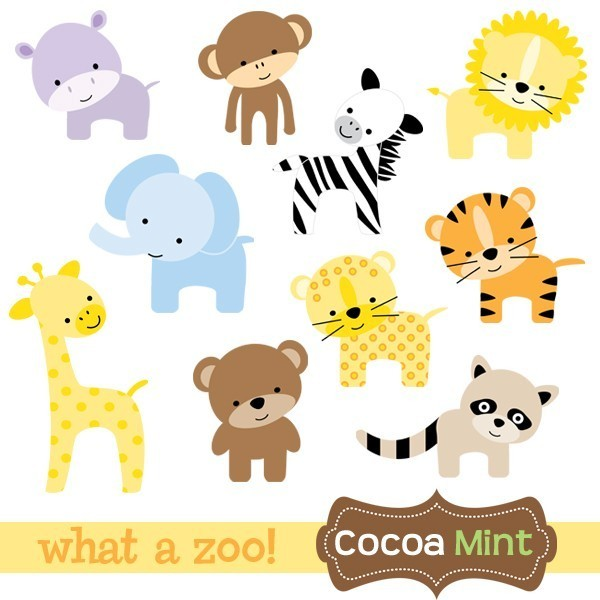 Zoo Animal Clipart & Zoo Animal Clip Art Images.