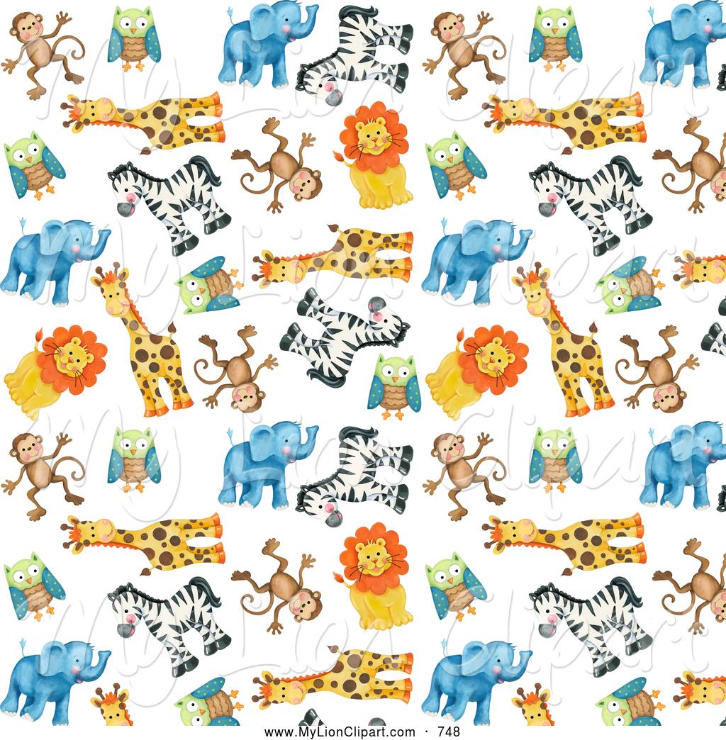 Animals Clipart Background.
