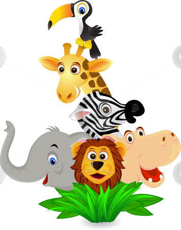Cartoon zoo animals clipart 1 » Clipart Station.