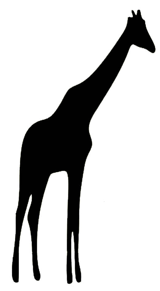 Silhouette Animal Clipart.