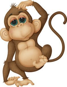 Animal clipart monkey, Animal monkey Transparent FREE for.