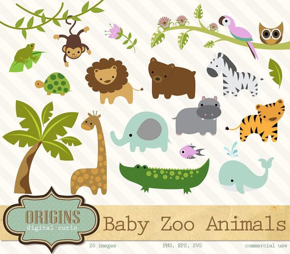 Cute Zoo Animals PNG Transparent Cute Zoo Animals.PNG Images.