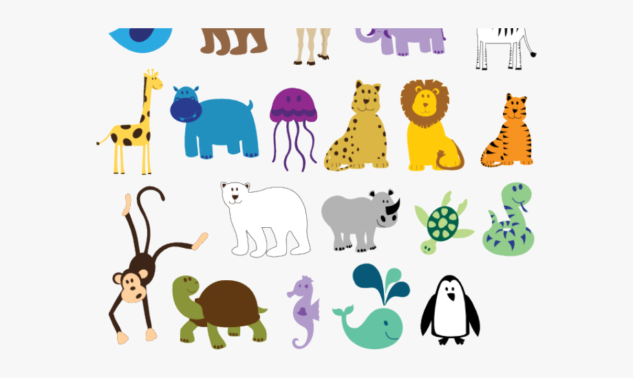 Zoo Clipart Simple.