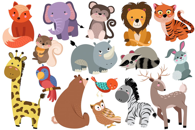 Download Free png Cute Baby Zoo Animals PNG Plu.