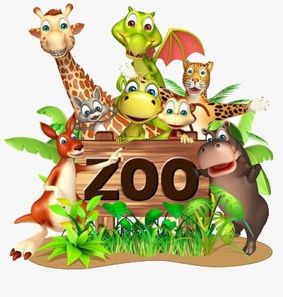 Zoo Animals PNG, Clipart, Animals Clipart, Animals Clipart.
