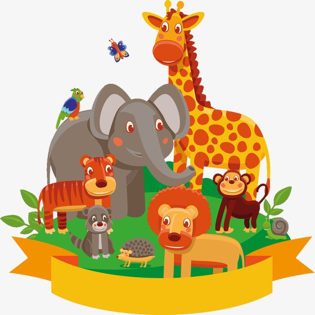 Zoo Animals Clipart Png.