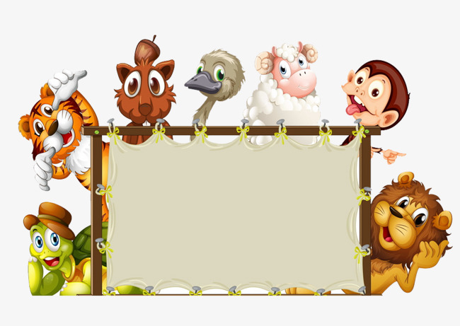 Zoo border clipart 5 » Clipart Station.