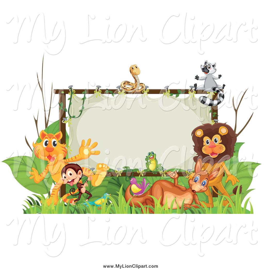 Zoo Clip Art Borders.