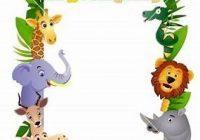 Zoo Animal Border Clip Art Free.