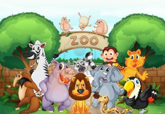 46+ Zoo Clipart.