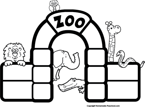 Free Zoo Clipart.