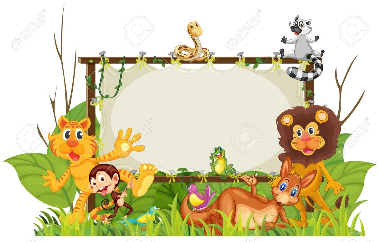 54,001 Zoo Background Stock Vector Illustration And Royalty Free.