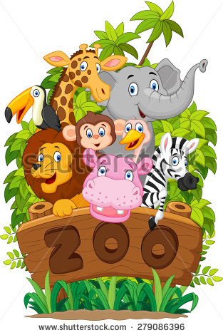 Zoo Background Stock Images, Royalty.