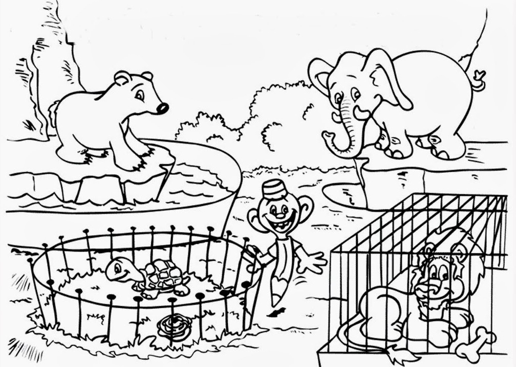 Zoo Clipart Black And White (98+ images in Collection) Page 1.