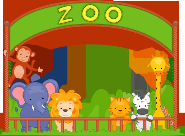 Zoo Clipart Transparent.