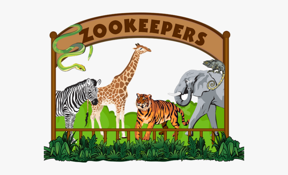 Zoo Clipart Zookeeper.