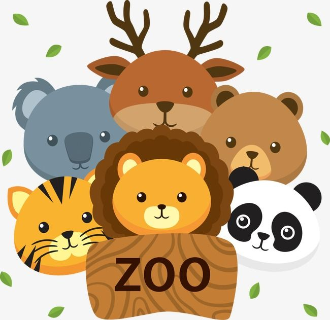 Zoo, Cartoon, Zoo Vector PNG and Vector with Transparent.
