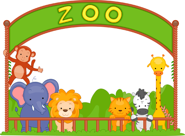 Pix For Zoo Field Trip Clip Art.