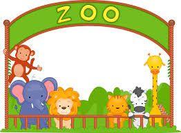 zoo gate clipart.