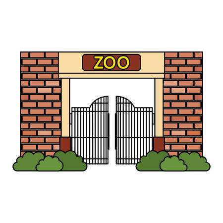 344 Zoo Entrance Stock Vector Illustration And Royalty Free Zoo.