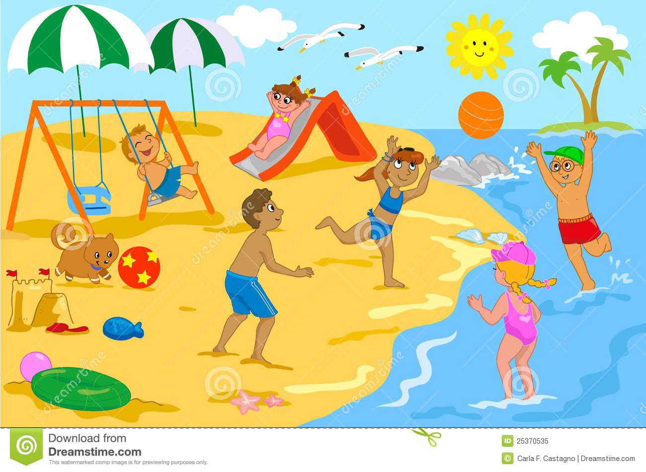 Beach People Clip Art Our Suggestions