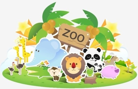 Free clipart of zoo animals free vector download (11,423 Free vector.