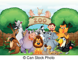 Zoo Clipart and Stock Illustrations. 149,463 Zoo vector EPS.