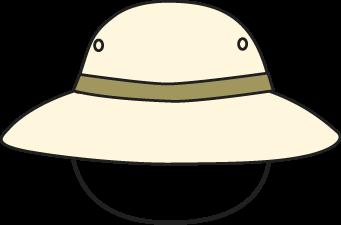 Safari Hat Clipart.