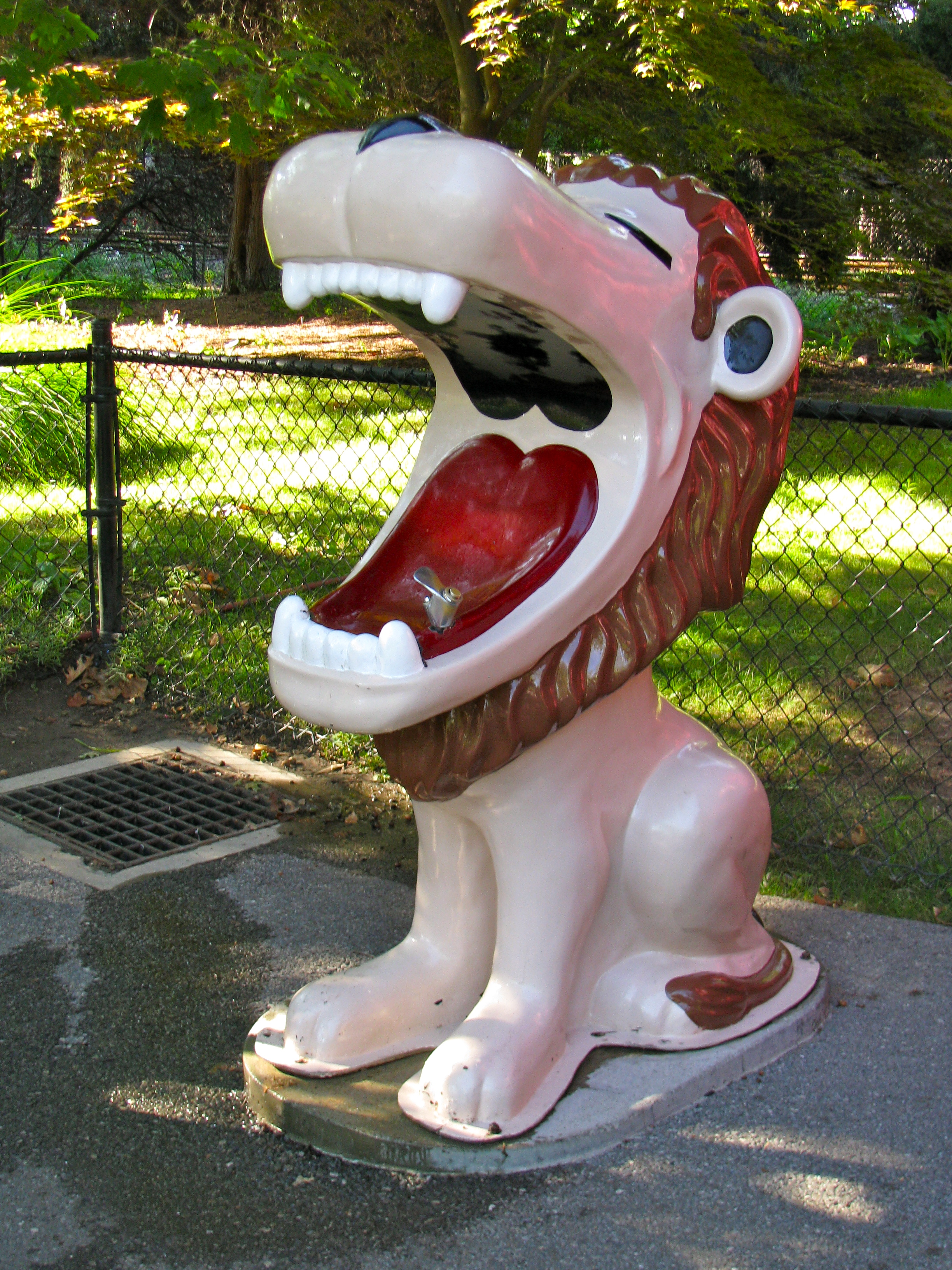 Showing post & media for Cartoon lion fountain.