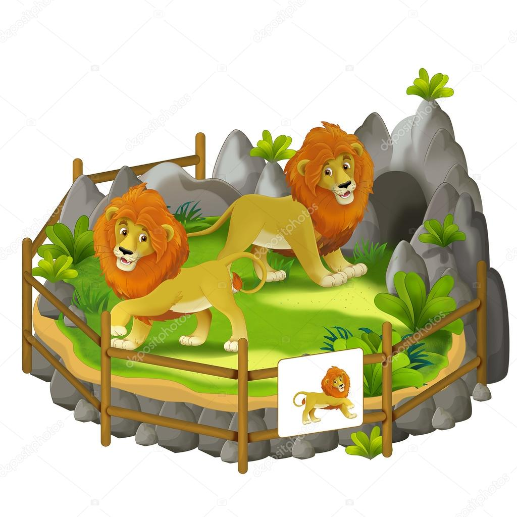 Showing post & media for Cartoon zoo lions.