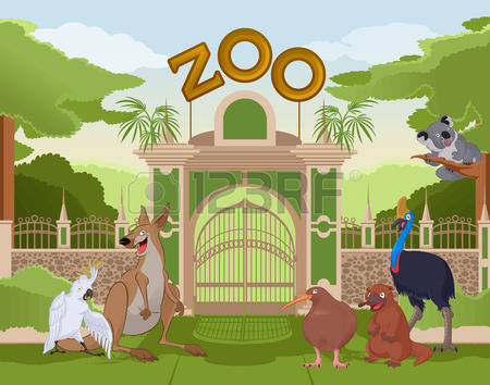 287 Zoological Park Stock Vector Illustration And Royalty Free.