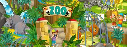 Cartoon Zoo.