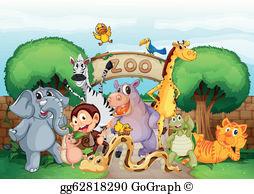 Zoo Clip Art.