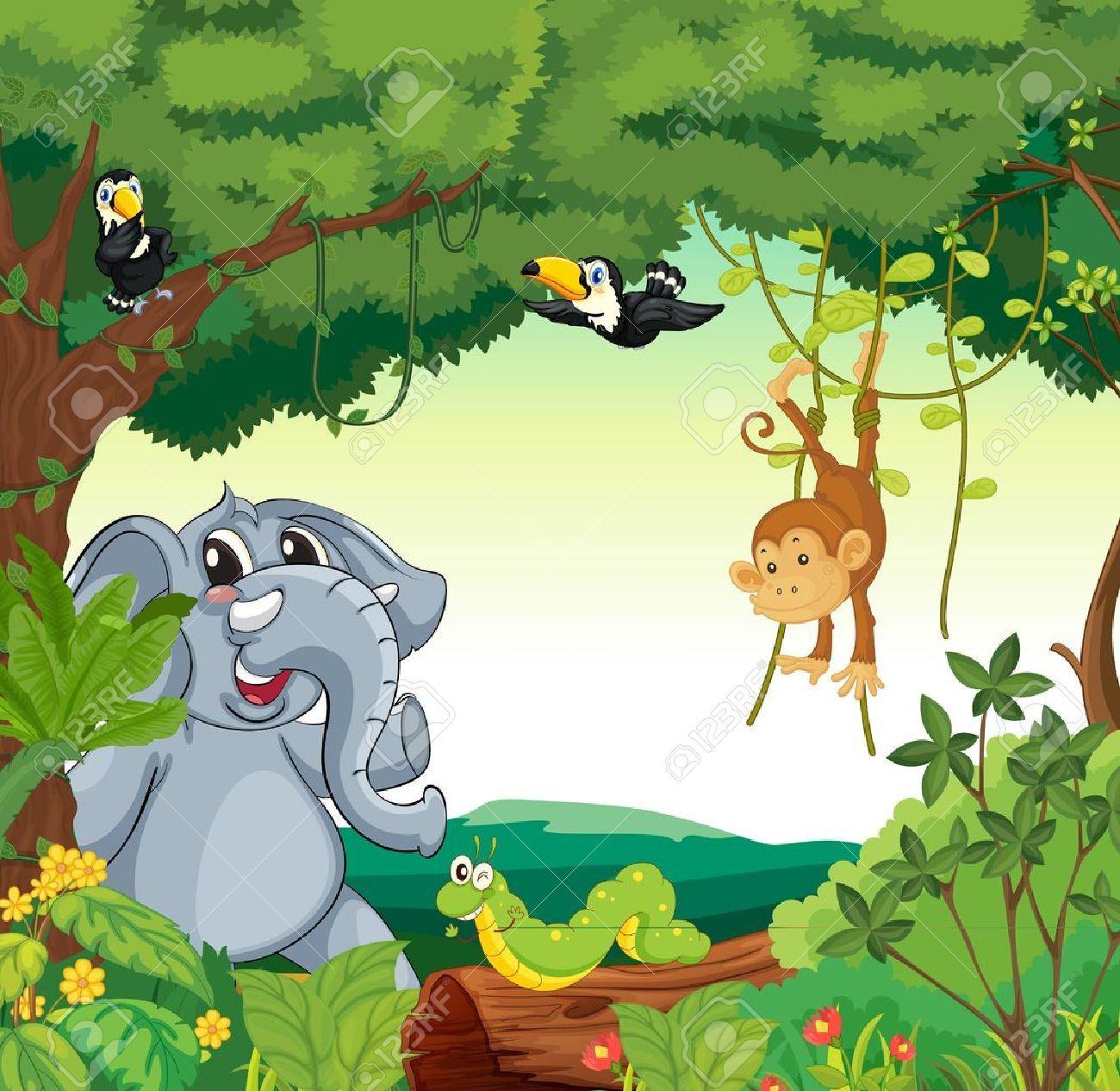 Zoo scene clipart 8 » Clipart Portal.
