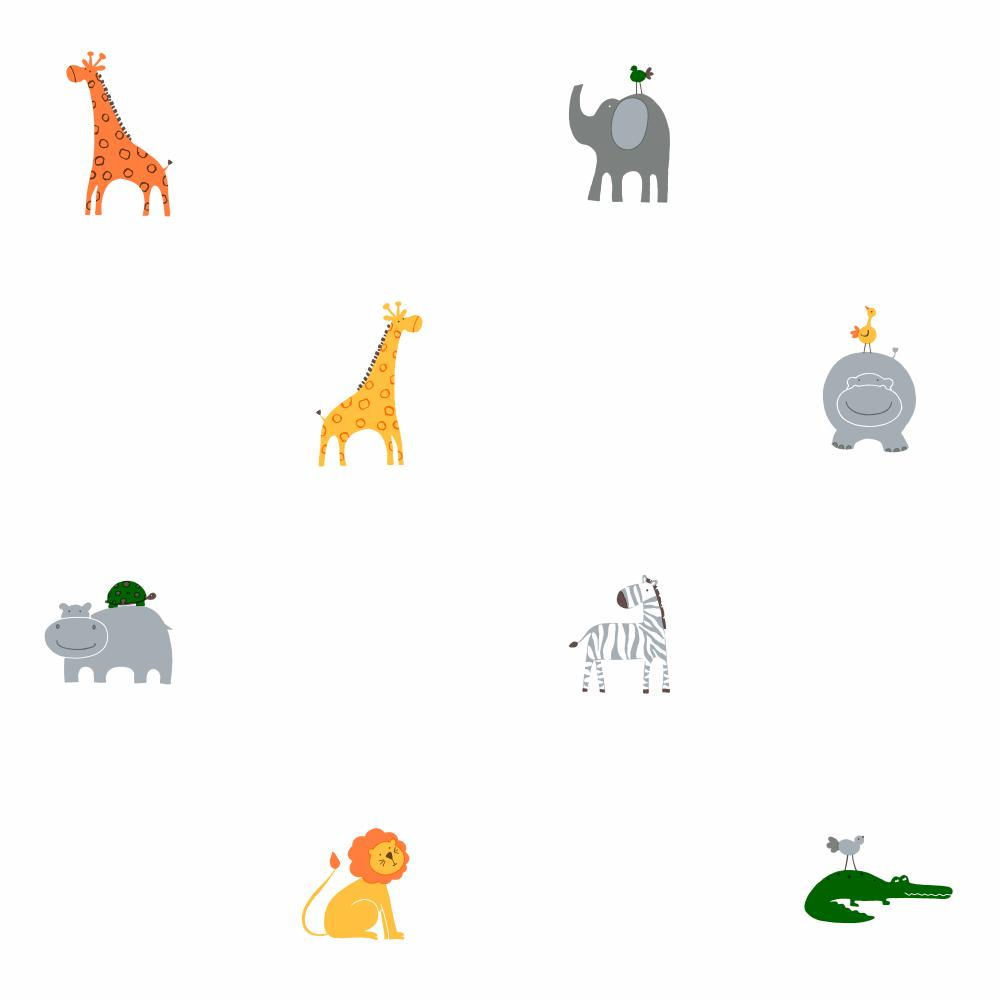 Wallpaper By Topics > Nursery > Zoo Animals.