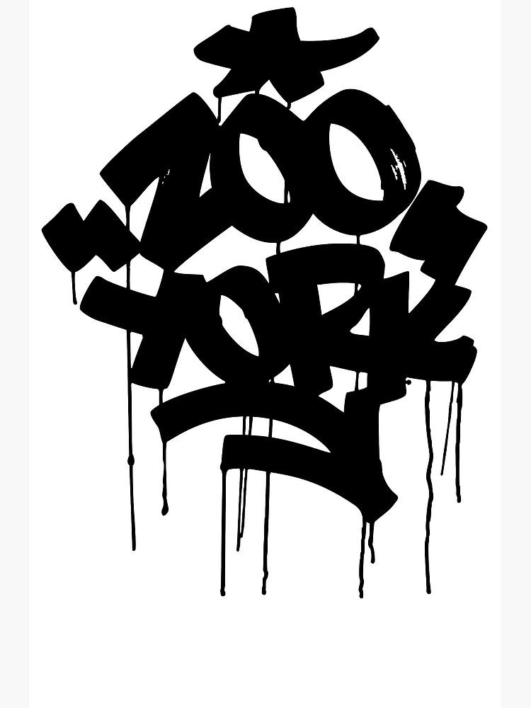 ZOO YORK BLACK.