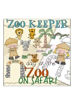 Zoo Keeper Clipart Worksheets & Teaching Resources.